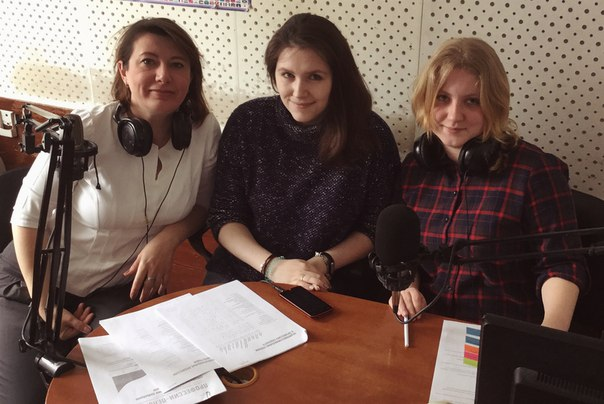 Интервью на Радио Курс